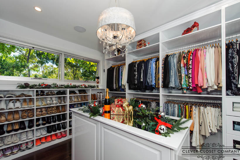 Walk in wardrobes sydney copy clever closet company for His and hers walk in closet