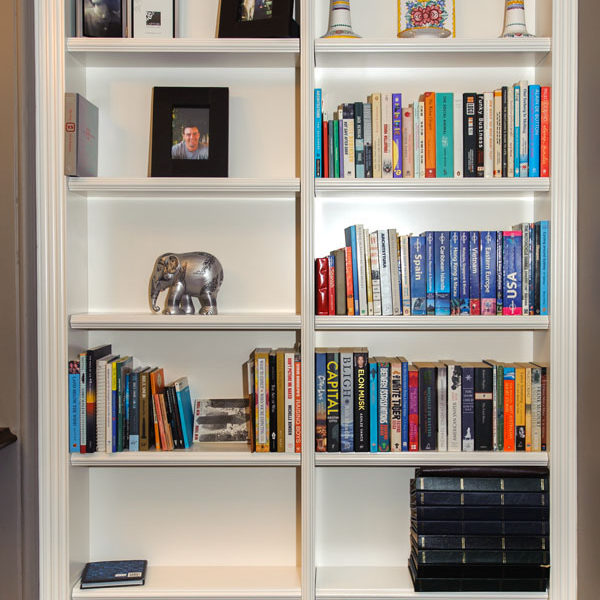 Bookcase with Fluting