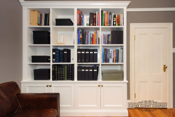 Bookcase with Lower Cabinet