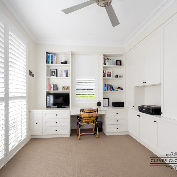 Shaker Style Home Office